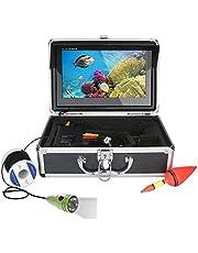 Undervattensfisk Finnare HD Undervattenskamera 10 tum LCD-skärm IP68 Vattentät 1000TVL Undervattensfiskekamera (20m, 30m, 50m),30m