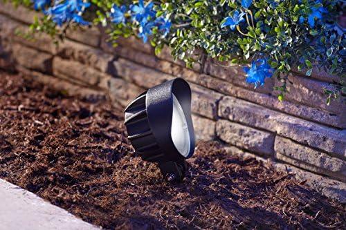 COLEMAN CABLE 95542 Low V LED Spot Light, Black