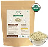 100% Organic Kapikacchu Powder (0.5 lb/227g/08 oz) by Just Jaivik | Raw, Gluten-Free & Non-GMO – Certified Organic Under NPOP and NOP Standards Review