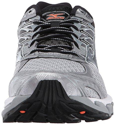 Griffin Orange Paradox Running Shoe Men's Wave Silver Mizuno Red 4 nqzpRYHwn