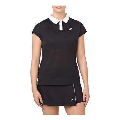 ASICS Court Classic Polo Performance Black SM (US 6-8): Amazon.es ...