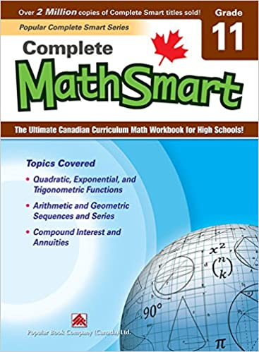 Complete MathSmart 11: The Ultimate Canadian Curriculum Math