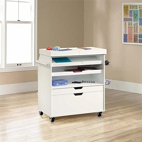 Sauder Craft Pro Series Craft Cart, L: 37.24
