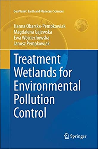 Treatment Wetlands for Environmental Pollution Control