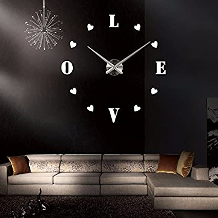 EverTrust(TM) new wall clock reloj de pared quartz watch europe horloge home living