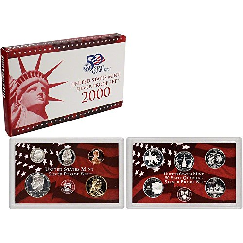2000 S Silver Proof Set ()