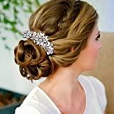 Fairy Moda Vintage Bridal Hair Comb for Wedding