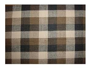 Coleman Mackenzie - Alfombra para tienda (4 personas), color verde oscuro y marrón