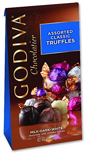 Godiva Chocolate Assorted Classic Truffles