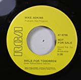 Mike Adkins 45 RPM Smile For Tomorrow / Mr. Jones of Wall Street