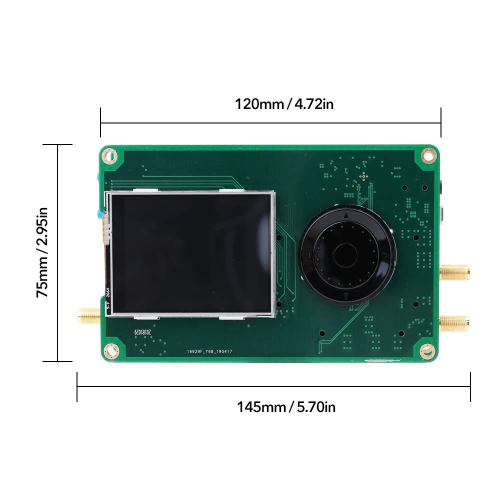 KKmoon Ultima Versione Portapack con Orologio TCXO GPS da 0,5 ppm per HackRF Software SDR Defined Radio