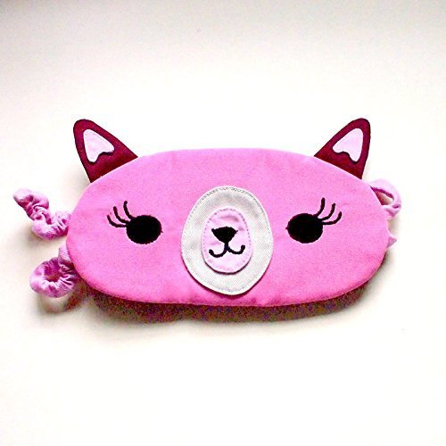 Amazon com: Cute Alpaca Llama Beauty Sleep Mask, Pretty Pink