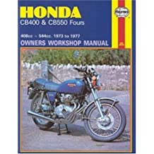 Honda CB400 and CB 550 Fours Owners Workshop Manual, No. M262: '73 Thru '77