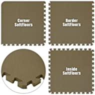 Best Floor Pad SoftFloors Brown Total