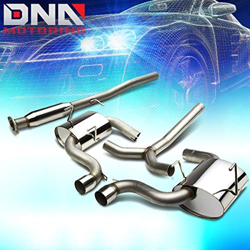 DNA MOTORING CBE-MINI02 CBEMINI02 Stainless Steel Catback Exhaust System
