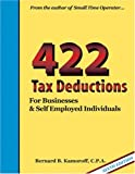 img - for 422 Tax Deductions for Businesses and Self-Employed Individuals (475 Tax Deductions for Businesses & Self-Employed Individuals) book / textbook / text book