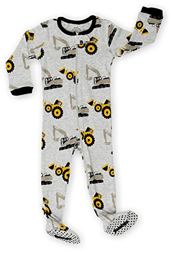 Elowel Kids Bulldozer Pajama Sleeper