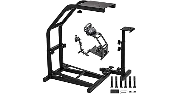 Amazon Com Gtr Racing Steering Wheel Stand With V2 Support Game