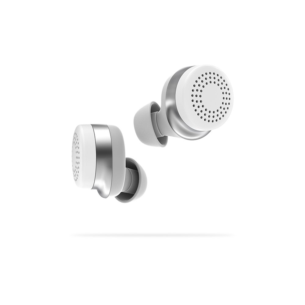 Doppler Labs Here One Wireless Smart Earbuds, 3-in-1 Noise Cancelling & In Ear Bluetooth Headphones, White HH0102