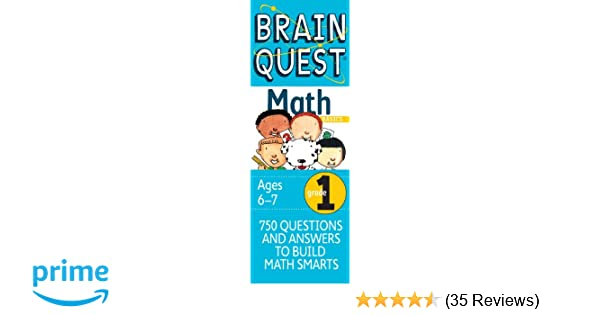 Brain Quest Grade 1 Math, Revised 2nd Edition: Marjorie Martinelli ...