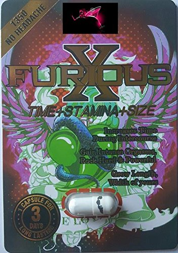 Furious -X- Monster 'Make Your Monster Big' 'Wow' O M G Limited Edition 24 Pill Combo Plus LOVE POTION Exclusive Pen