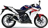 Leo Vince SBK GP Corsa Slip-On Exhaust (Carbon Fiber) for 13-15 Honda CBR500R