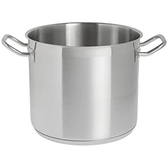 Amazon.com: Hubert 12 1/2 qt Olla inoxidable – 10