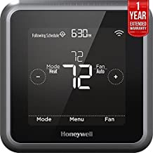 Honeywell Lyric T5 Wi-Fi Smart Thermostat (RCHT8610WF2006) with 1 Year Extended Warranty