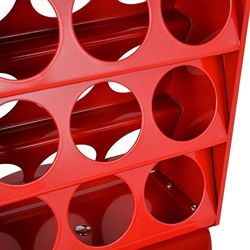 Hivenets Soporte Giratorio Para Capsulas De Cafe Dolce Gusto Portacapsulas Metalico Vertical Giratorio Para 18 Pcs