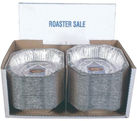 Foil Roasting Pan Oval 17 3/4 x 12 3/4 x 3 1/4 inch Case Pack 75 Home Kitchen Furniture Decor