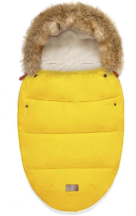Universal Sacos de Abrigo Carritos Silla de Paseo Saco de invierno T/érmica con Capucha Forro Polar Antideslizante Aire Libre Para Cochecito Sillas de Coche