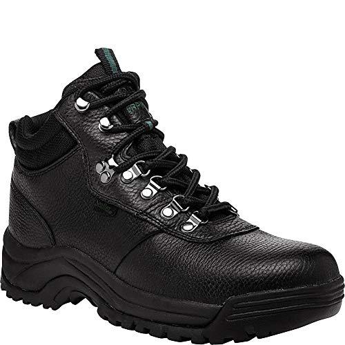 Propet Men's Cliff Walker Hiking Boot, Black, 16 - Walker Casual Propet