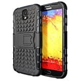 """""""Hyperion Samsung Galaxy Note 3 Explorer Hybrid Case / Cover (Compatible with Verizon Samsung Note 3 / At&t Samsung Galaxy Note III / Sprint Samsung Note 3 / ALL International Samsung Note 3 SM-N900 Models) **Hyperion Retail Packaging** [2 Year Warranty] (BLACK/Black)"""""""
