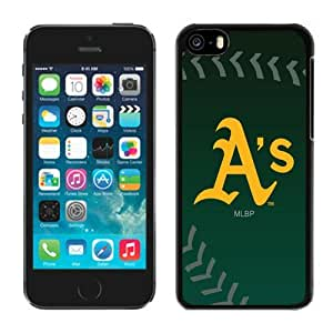 Personalized Iphone 5c Case MLB Oakland Athletics 3 Customized Phone Covers