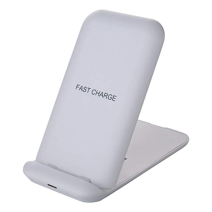 Cargador inalámbrico para Samsung S10 / S10 Plus / 10e, Magiyard Soporte de Carga rápida del Cargador inalámbrico rápido Qi 10W para Samsung S10 / S10 ...