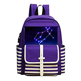 Children School Backpack Gemini Kids Student Bookbag