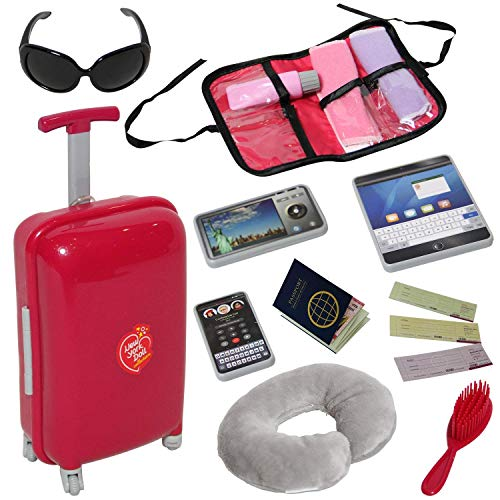Doll Travel Suitcase with