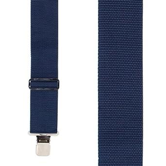 WORK-2-N-Parent SuspenderStore Mens Heavy Duty Non-Stretch Work Suspenders 4 Sizes, 4 Colors