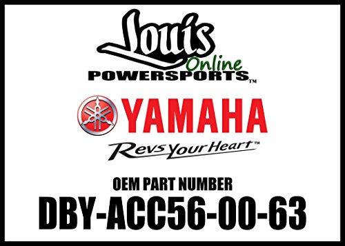Yamaha DBY-ACC56-00-63 Evolution Rear Cargo Bag - Blk; DBYACC560063 Made by Yamaha ()