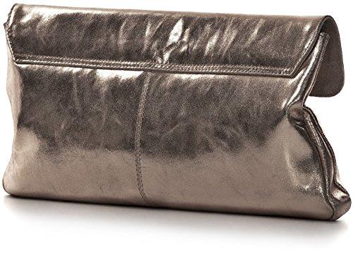 21 sous 5 poches bras XL nbsp;cm femme main partybags 37 nbsp;x B 2 x étui les Trend Clutch x Clutches chbags Sac à H en Clut CNTMP nbsp;x cuir T Anthracite Bags métallisé w7xzI4Bvqn