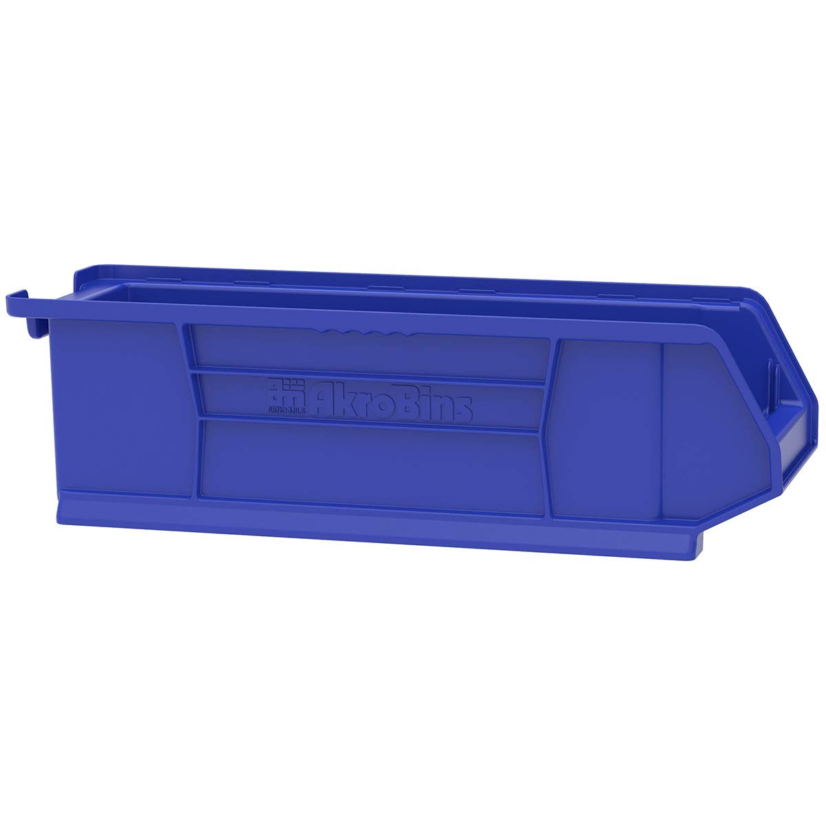 Akro-Mils 30284 Super Size Plastic Stacking Storage Akro Bin, 24-Inch Diameter by 8-Inch Width by 7-Inch Height, Blue, Case of 4 by Akro-Mils (Image #6)