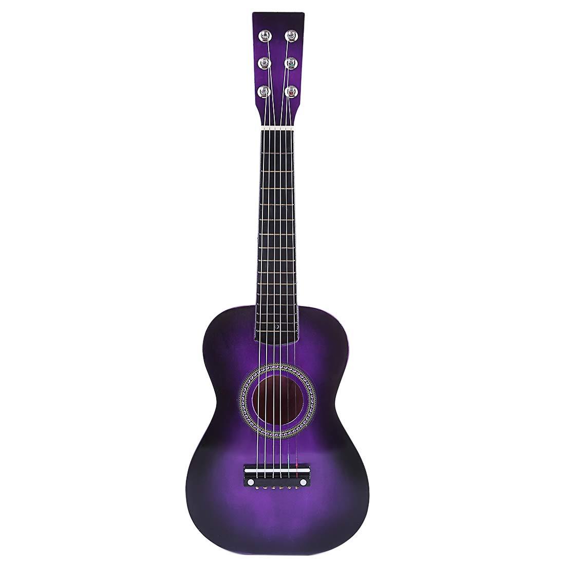 Rolanli Guitarra para Niños, 58,7cm 6 Cuerdas Guitarra de Madera ...