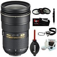 Nikon 24-70/2.8G ED AF-S Nikkor Wide Angle Zoom Lens + Accessory Kit