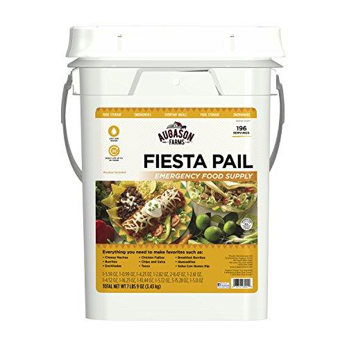 Augason Farms Fiesta Pail, Emergency Food Supply, Mexican Food ()