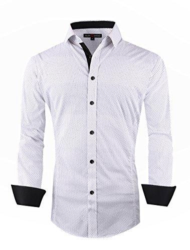 buy 100 cotton dress shirt - 3