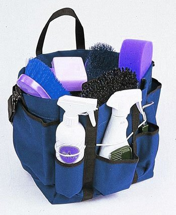 Roma Deluxe Grooming Tote - Color:Purple Size:One