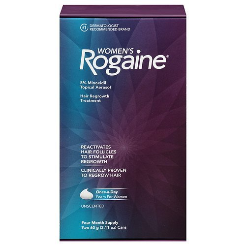 Brand NEW Women's Rogaine Hair Regrowth Treatment (12 Month Supply) Shipping Fast