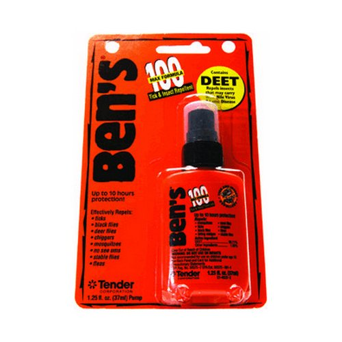 Max 95% Deet Insect Repellant - 1.25OZ - 10 Hour Insect Repellent