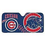 Team ProMark Chicago Cubs Auto Sun Shade 59x27