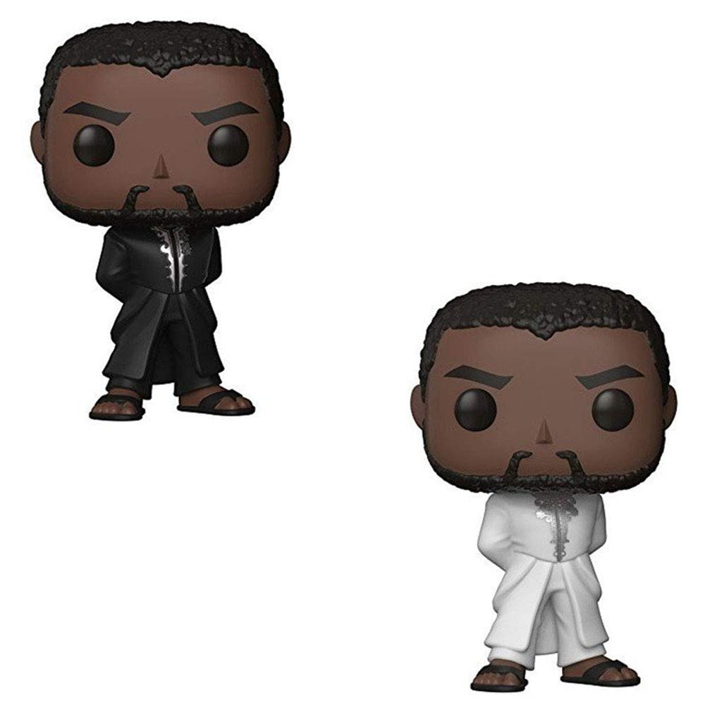 Funko POP! Marvel: Black Panther Movie - Black Panther (Styles May Vary) Collectible Figure 23129 Accessory Toys & Games